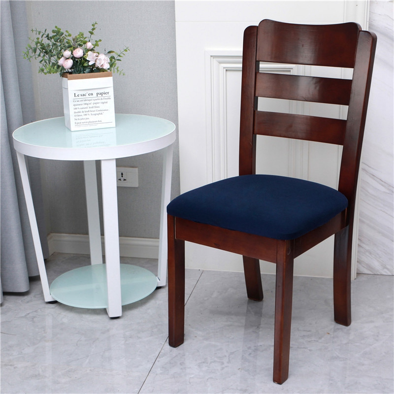 Removable Stretch Slipcovers Home Dining Chair Seat Cover Bar Chair Protector