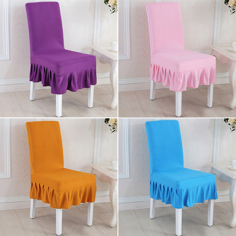 US One-piece Stretch Chair Cover Slipcover Restaurant Hotel Low Back Chair Cover